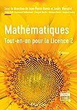Mathématiques - Tout-en-un pour la Licence 2 - 3e éd. - Dunod - 05/02/2020