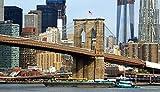 LZQZJD Juego De Rompecabezas De 5000 Piezas para Adultos, Juego De Puente De Brooklyn, Rompecabezas De Madera para Decoración del Hogar