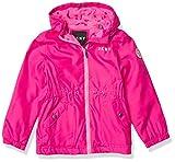 DKNY Girls' Med Weight Jacket, Fuschia, 14-16