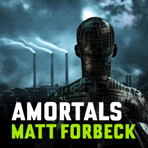 Amortals audiobook cover art