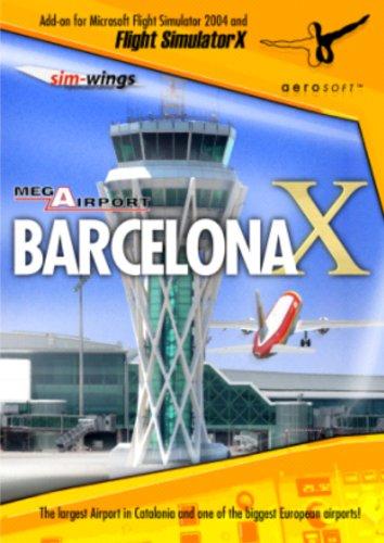Extension de Flight Simulator Mega Airport Barcelona PC FS-X y 2004, en Español