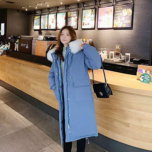DPKDBN donsjack, winter donsjas oversized warme jas lange slanke vrouwen katoen gewatteerde Wadded Para's vrouwelijke jas