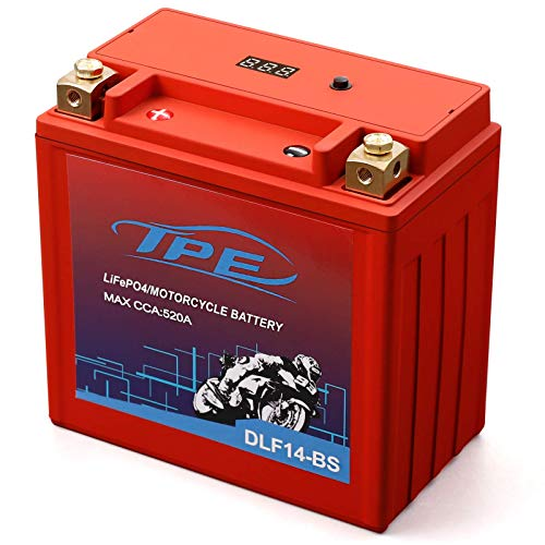 Lithium Motorcycle Battery, YTX14-BS 12V Lithium Battery with Smart Battery Management System