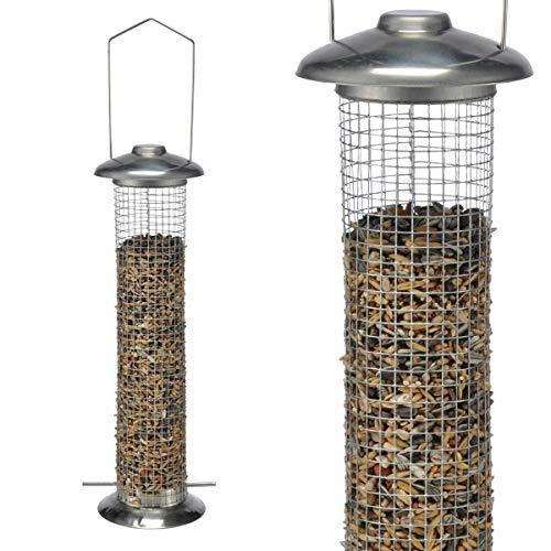 HI Vogelfutterstation 33cm Futterstelle für Vögel Vogelhaus Futterhaus Vogelfutter