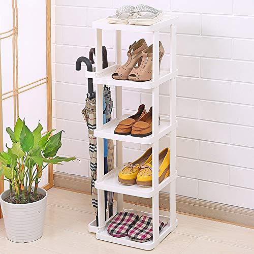 QFFL Chaussure Rack Multi-couche Simple Assemblée Économique Ménage De Stockage Dortoir Chambre Espace Fonction Moderne Minimaliste Chaussures Armoire Range-chaussures
