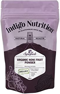 Indigo Herbs Polvo de Fruta Orgánica Noni 100g