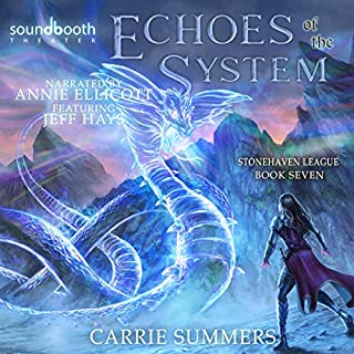 Echoes of the System: A LitRPG Adventure cover art
