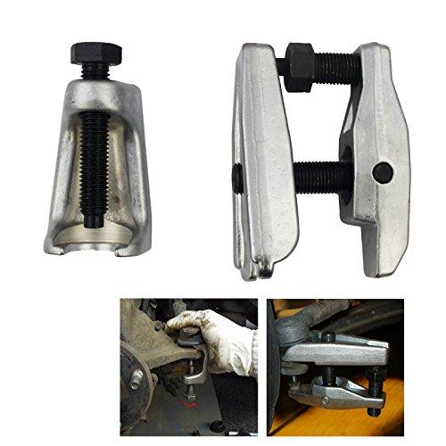HG® 2-tlg Kugelgelenk Abzieher Spezialwerkzeug Ausdrücker Spurstangenkopf Traggelenk UNIVERSAL für viele Autohersteller