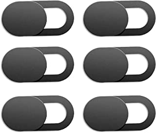 Webcam Cover, Ultra Thin Privacy Protector,6 Pack Ultra Thin Laptop Camera Cover Slide Blocker for Computer MacBook Pro iM...