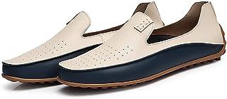 حذاء كاجوال صيفي للرجال بمقاسات كبيرة أحذية قيادة خفيفة