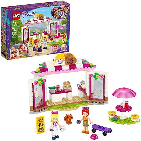 LEGO Friends Heartlake City Park Caf 41426 Building Toy Outdoor Caf Set Inspires Role Play and product image