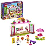 LEGO Friends Heartlake City Park Café 41426 Building Toy, Outdoor Café Set Inspires Role Play and Includes 2 Buildable Mini-Doll Figures, Great Gift for Kids Who Love Food Play, New 2020 (224 Pieces)
