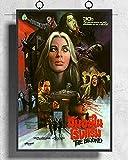 Sanguolun Cuadro En Lienzo Doors of Death The Beyond Movie Lucio Fulci Horror Poster Art Decor Painting 60x90cm