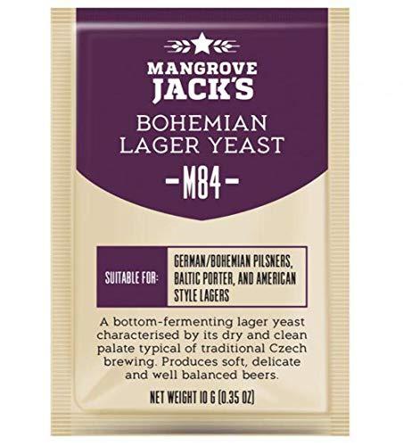 Mangrove JACK 'S LIEVITO M84 Bohemia LAGER ATTIVITÀ SERIE LIEVITO 10G Treats 23L