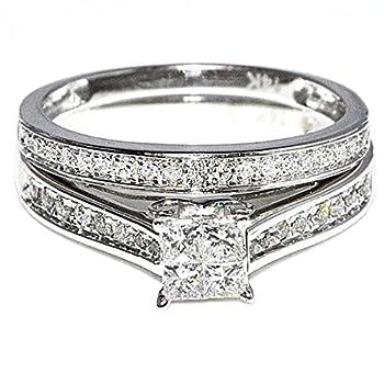 quad diamond ring