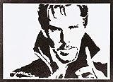 Poster Doctor Strange Grafiti Hecho a Mano - Handmade Street Art - Artwork...