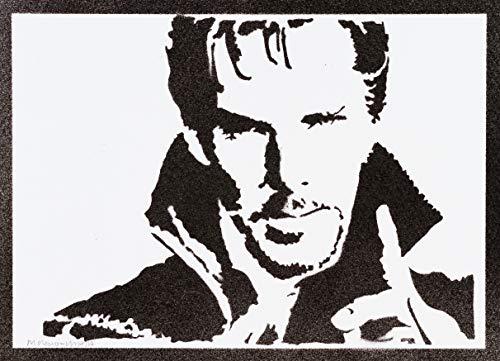 Poster Doctor Strange Grafiti Hecho a Mano - Handmade Street Art - Artwork