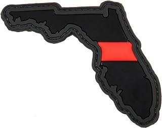 Violent Little Machine Shop - Thin Red Line PVC Morale Patches (Florida)