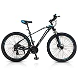 Mountain Bike with Side Stand, 292.1 tire, 29' 17' Alloy Frame Frame, 29-inch Bicycle for Men