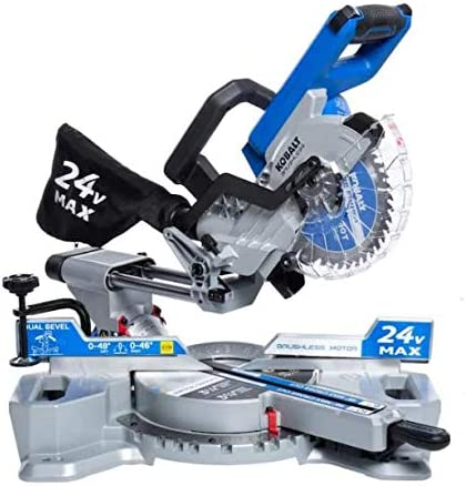 Kobalt 7-1 4-in 24-Volt Max Bevel Dual 63% Daily bargain sale OFF Compound Sliding Cordless