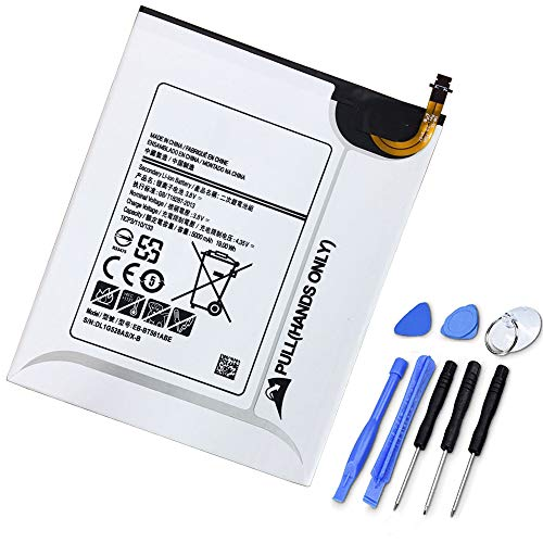 XITAI 3.8V 19Wh 5000mAh EB-BT561ABE Vervangende Batterij voor Samsung Galaxy Tablet Tab E T820 T825 T560 SM-T560 T565 T561 with Tools
