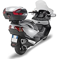 Bike Specific Rack and M7 rear plate for Givi MONOKEY top cases. Fits Suzuki Burgman 650 (2002-2018) and Burgman 650 Executive (2004-2018) Top Case Pictured sold seperately The Executive Model (2013-2018) Also Requires Fitting Kit SR3104KIT to instal...