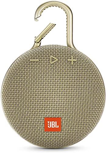 JBL Clip 3 Altavoz Bluetooth Portátil Impermeable IPX7 Micrófono para Llamadas Manos Libres hasta 10 Horas de Autonomía