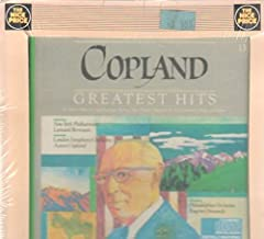 Aaron Copland - Greatest Hits - Fanfare for the Common Man; El Salon Mexico; Billy the Kid excerpt ; Rodeo: Hoedown; Appalachian Spring - Bernstein, Ormandy