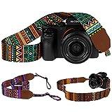 Best Dslr Camera Sling Straps - Pawia Vintage Camera Strap DSLR SLR Tribal Pattern Review