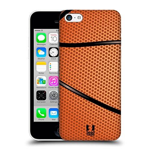Head Case Designs Baloncesto Colección de Bolas Carcasa rígida Compatible con Apple iPhone 5c