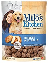 Home-style dog treats with 100% real chicken as the #1 ingredient Wholesome and delicious, with no artificial flavors or colors Made in the USA and meets the applicable standards and specifications of the USDA, the FDA, and the AAFCO Customer satisfa...