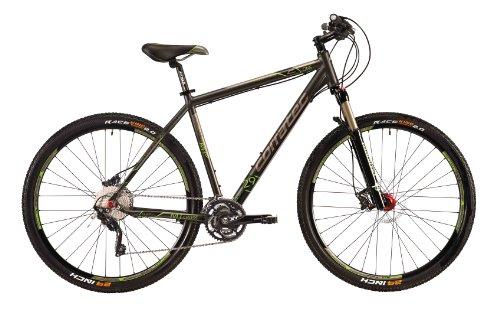 Corratec Herren Fahrrad C29 M Cross 01, Anthrzit Grün Matt, 57, BK17125-0057
