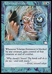 A single individual card from the Magic: the Gathering (MTG) trading and collectible card game (TCG/CCG). This is of Rare rarity. From the Weatherlight set.