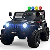 Uenjoy Kids Ride on Cars with Remote Control New Camouflage Color W/ Spring Suspension, Music, Story Playing, Colorful Lights, Sunshine Model, Camo Pink