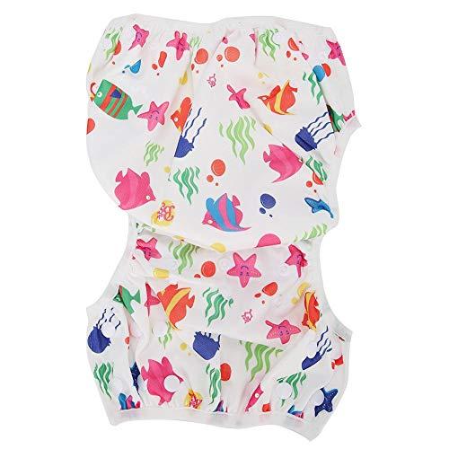 Voluxe Pañal de natación del bebé, pañal lavable para el hogar para al aire libre (D27)