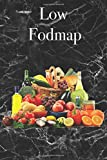 Low Fodmap - Food diary, 120 pages, food journal diary, ideal to note down your daily habits, your gut issues, symptoms, sibo, weight, food you eat,