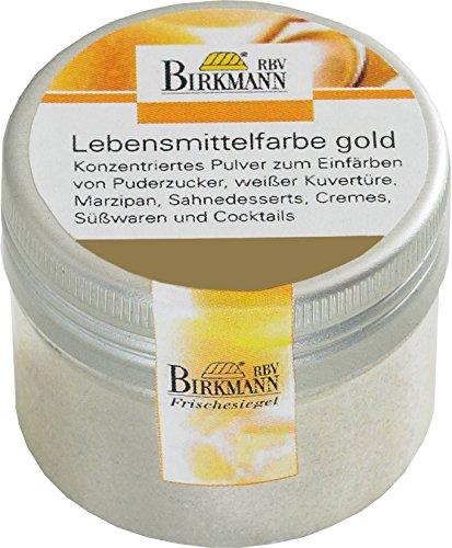 knusper.haus Intensywne barwniki spożywcze (12 kolorów / 5 g), kolor do wyboru (złoty)