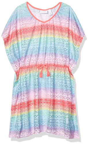 The Children's Place Girls' Big Rainbow Coverup, Multi CLR, S (5/6)