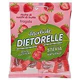 Dietorelle - Caramelle Morbide Vegan Fragola, Caramelline Morbide, Senza Zucchero, Senza G...