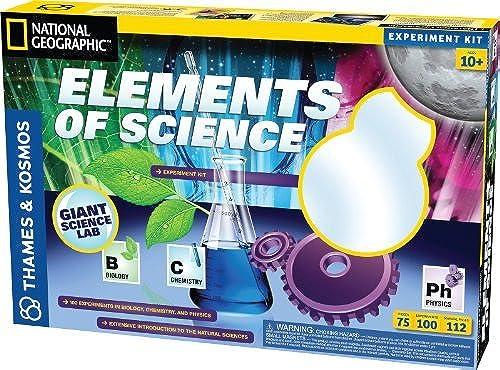 tienda en linea Thames and Kosmos Fun and Funmujertals Elements Elements Elements of Science by Thames & Kosmos  70% de descuento