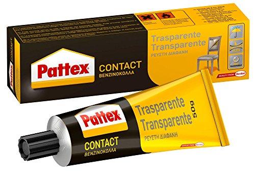 Pattex Cola de contacto, para trabajos de bricolaje, color transparente, 50gr