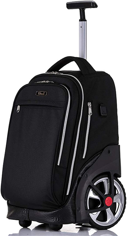 SHINING KIDS Rolling Backpack Trolley School Bags With Cyclone Big Wheel