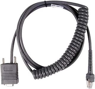 Partshe LS2208 RS232 Serial Cable for Symbol Barcode Scanner LS2208 LS1203 LS2208 LS 4208 LS4278 LS7708 LS9208 RJ45 to DB9 Cable 9ft CBA-R02-C09PAR