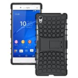 SCIMIN Sony Xperia Z5 Premium Case, Xperia Z5 Premium Cover, Dual Layer Protection/Shockproof/Drop Resistance Hybrid Rugged Case Cover with Kickstand for 5.5'' Sony Xperia Z5 Premium