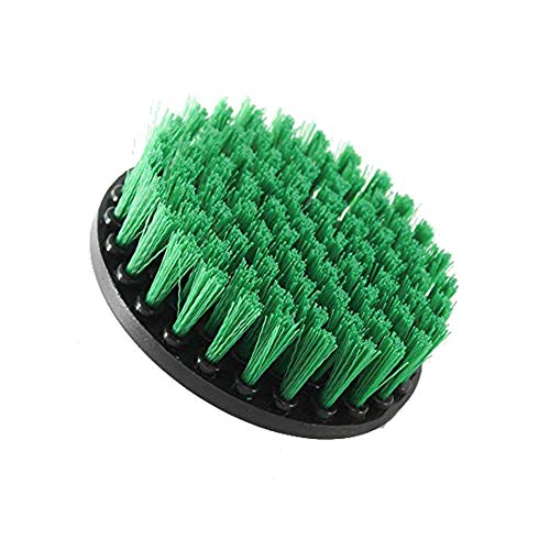Beste kwaliteit – Cleaning Brushes – 1 stuks elektrische drill borstel plastic rond borstel voor carpet glas auto tires nylon borstels power scrubber drill – by Stephanie – 1 pc A - China