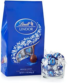 Lindt Lindor Truffles Dark Chocolate with Smooth Filling 10.2 ounce