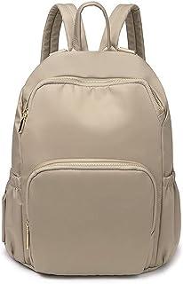 حقائب نسائية من كايكسياوتينغ حقائب مدرسية متينة لامعة حقائب ظهر نسائية كاجوال حقائب ظهر للسفر (اللون: كاكي)