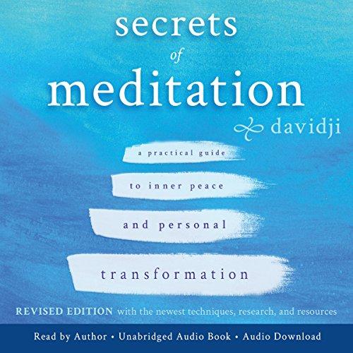 Secrets of Meditation audiobook cover art