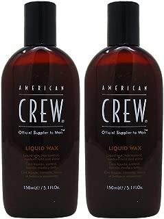 Bundle-2 Items : American Crew Liquid Wax, 5.1 Fl Oz (Pack of 2)