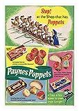 BB Posters Paynes Poppets 2 Poster Schokolade Bild Vintage
